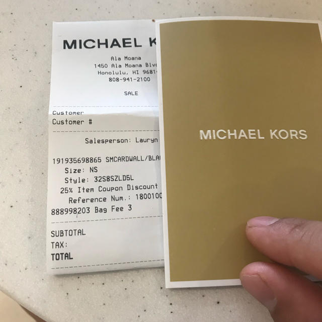 Michael Kors(マイケルコース)のマイケルケース Michael kors 財布 レディースのファッション小物(財布)の商品写真