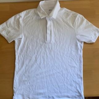 ユニクロ(UNIQLO)のユニクロ  白色メンズ(S)ポロシャツ(ポロシャツ)