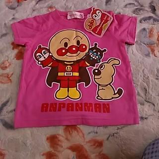 バンダイ(BANDAI)の可愛い❤アンパンマンべビーTシャツ新品未使用サイズ80cm (Tシャツ)
