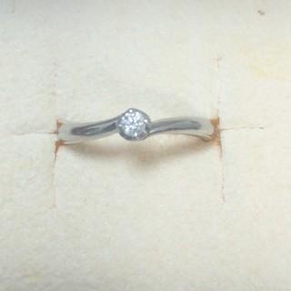 ヨンドシー(4℃)の4℃ ダイヤモンドリング プラチナ(リング(指輪))