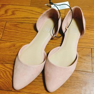 ギャップ(GAP)の最終お値下げ♡ ギャップ パンプス フラット ピンク 7サイズ Lサイズ(ハイヒール/パンプス)
