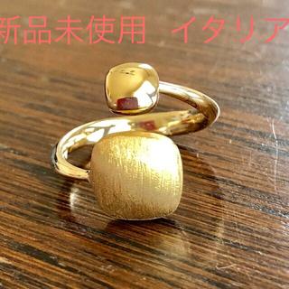 新品未使用 K18. イタリアンジュエリー  イエローゴールド  18金リング(リング(指輪))