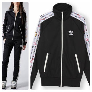 adidas - 希少 adidas × TOP SHOP GRAPHIC TRACK TOP