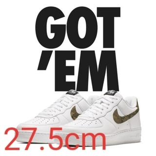 ナイキ(NIKE)の【27.5cm】NIKE AIR FORCE 96 SNAKE(スニーカー)