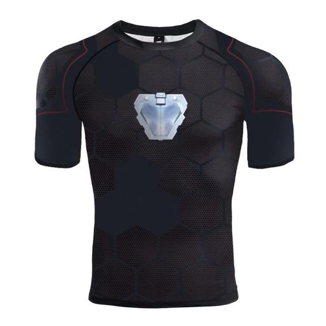 アベンジャーズ  トニースターク Tシャツ アイアンマン応援 メンズのトップス(Tシャツ/カットソー(半袖/袖なし))の商品写真