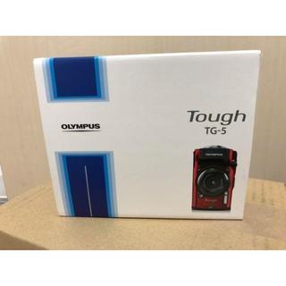 オリンパス(OLYMPUS)のOLYMPUS/オリンパス デジタルカメラ Tough TG-5 赤 新品未使用(コンパクトデジタルカメラ)