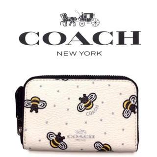コーチ(COACH)のCOACHコーチ新作、日本未入荷カードケース財布ではありませんハチ柄(コインケース)