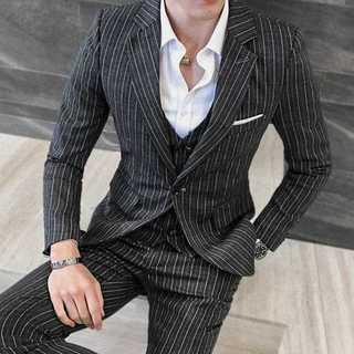 セットアップ 着痩せ パーティー 成人式 ビジネス 紳士 ホスト zb302(セットアップ)
