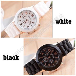 2color☆パステルカラー ワンコイン☆プチプラ シンプル シリコン腕時計(腕時計)