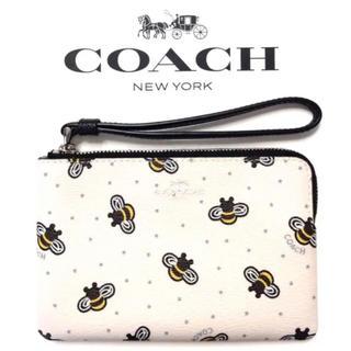 コーチ(COACH)のコーチ COACH2019新作リフレット人気のハチの柄。色々な用途で利用出来便利(ポーチ)