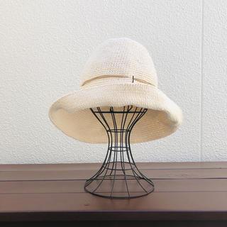 夏の帽子 《きなりホワイト》(ハット)
