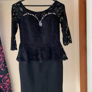 デイジーストア(dazzy store)のDazzy Queen ミニドレス 黒(ミニドレス)
