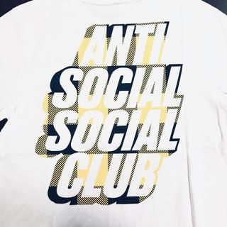アンチ(ANTI)の【M】 ANTI SOCIAL SOCIAL CLUB[ロゴTee]【SALE】(Tシャツ/カットソー(半袖/袖なし))