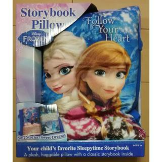 コストコ(コストコ)のアナと雪の女王 クッション絵本 枕 Storybook Pillow (知育玩具)