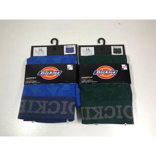 ディッキーズメンズボクサーパンツ成形柄2枚セットLLサイズ新品(ボクサーパンツ)