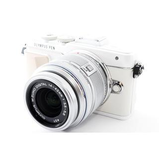 オリンパス(OLYMPUS)の☆自撮り写真をスマホにWiFi転送☆オリンパス E-PL7 ホワイト(ミラーレス一眼)