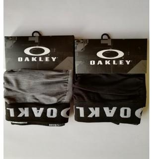 Oakley - OAKLEYボクサーブリーフ黒&グレー2枚組新品