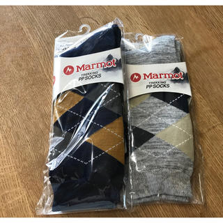 MARMOT - 【新品】Marmot メンズトレッキングソックス2足セット
