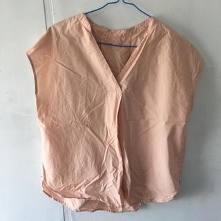 ジーユー(GU)のGU フレンチスリーブスキッパーシャツ(シャツ/ブラウス(半袖/袖なし))