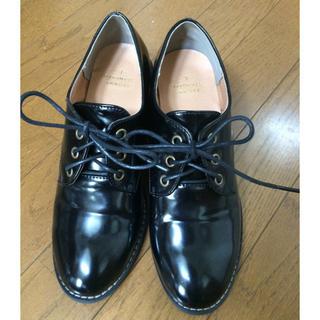 シマムラ(しまむら)のmaaai様専用しまむら レースアップシューズ(ローファー/革靴)