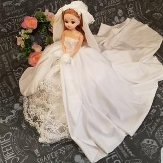 りかちゃん バービー☆ボリュームウェディングドレス☆