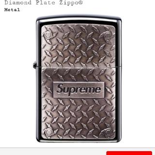 Supreme - SUPREME 19SS Diamond Plate Zippo