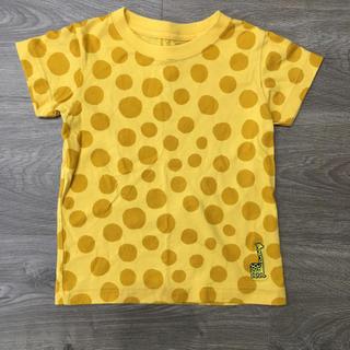 ユニクロ(UNIQLO)のUNIQLO  キリンTシャツ 100サイズ(Tシャツ/カットソー)
