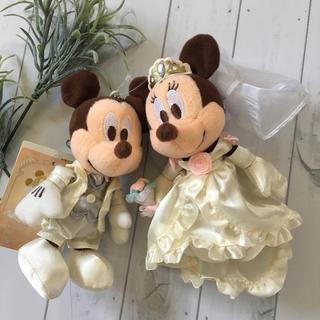 ディズニー(Disney)のタグ付き♡ミッキー♡ミニー♡ウエディング♡マスコット(ぬいぐるみ/人形)