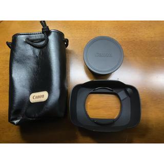 Canon - 【42%OFF】《今週限定》Canon ワイドコンバーター WD-H58W