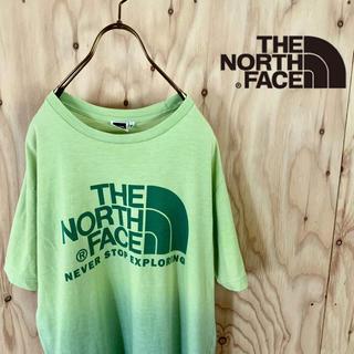 THE NORTH FACE - 【レアカラー】The north face ビッグサイズ グラデーション T