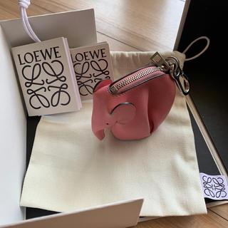 LOEWE - ロエベ  エレファント  コインケース  ピンク