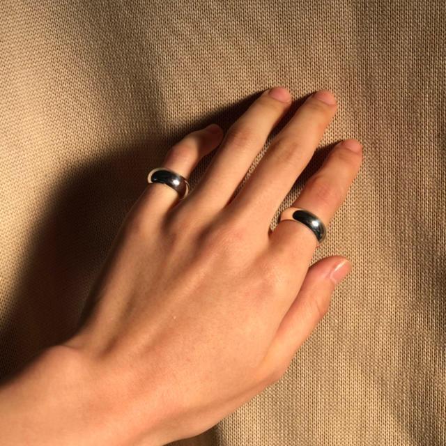 Smooth pinkie ring (gold)  レディースのアクセサリー(リング(指輪))の商品写真