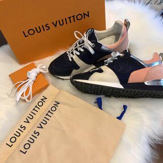 ルイヴィトン(LOUIS VUITTON)のLouis Vuitton  ランウェイラインスニーカー レディース(スニーカー)