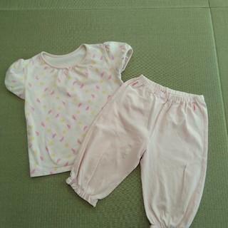 ユニクロ(UNIQLO)のパジャマ 女の子 100(パジャマ)