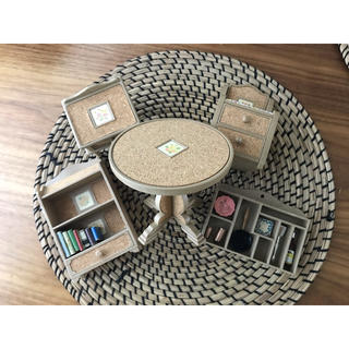 タカラ製 ジェニー 家具 セット(テーブル/インテリア/タカラ/バービー)