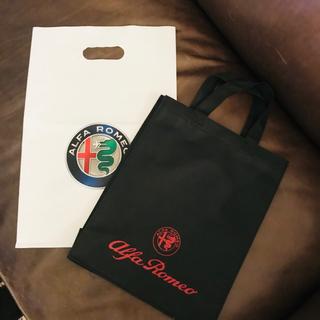 アルファロメオ(Alfa Romeo)の非売品 アルファロメオ トートバッグ alfaromeo ショップ袋付き(その他)