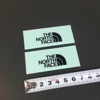 ザノースフェイス(THE NORTH FACE)のノースフェイス ステッカー 2点 ☆ ミニロゴ ブラック!!(その他)