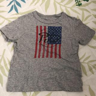 9c62863823531 ラルフローレン(Ralph Lauren)のラルフローレン☆星条旗Tシャツ☆グレー☆