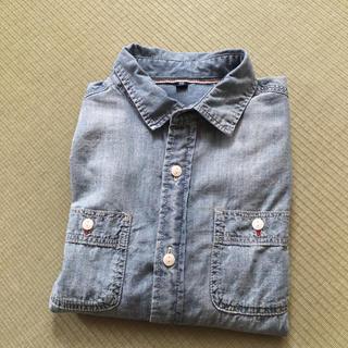 ユニクロ(UNIQLO)のユニクロシャツ サイズ140(ブラウス)
