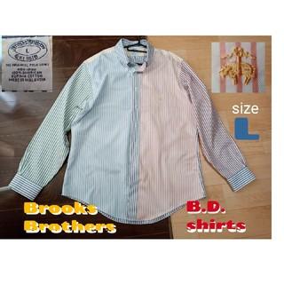 ブルックスブラザース(Brooks Brothers)のボタンダウンシャツ 綿100% L クレイジーパターン(シャツ)