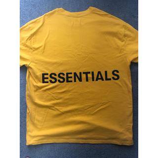 FEAR OF GOD - FOG Essentials Boxy Graphic T-shirt 黄 M