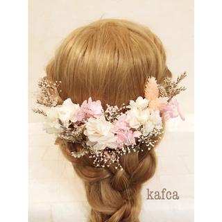♪5-13 髪飾り ヘッドドレス 結婚式 成人式 前撮り 卒業式