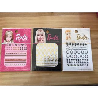 バービー(Barbie)の新品バービーネイルシール(ネイル用品)