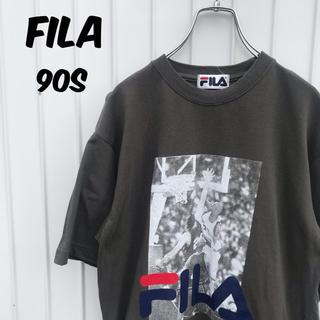 フィラ(FILA)のFILA フィラ 90s Tシャツ デカロゴ NBA バスケ レア デザイン(Tシャツ/カットソー(半袖/袖なし))