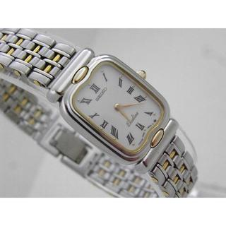 a6600099b7 セイコー(SEIKO)のSEIKO Exceline 腕時計 ローマン ホワイトダイアル エクセリーヌ(腕時計)