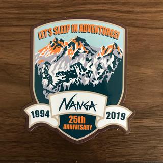 ザノースフェイス(THE NORTH FACE)のレア NANGA ナンガ 25周年 ステッカー アウトドア キャンプ(その他)