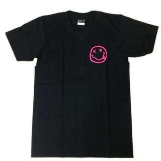 ニルヴァーナ Tシャツ チョビニコちゃん 2 ピンク M 黒 ニルバーナ
