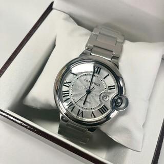 Cartier - Cartier カルティエ BALLON BLEU(バロン ブルー)メンズ腕時計