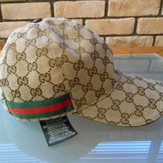 40151c4d4006 グッチ(Gucci)のGUCCI CAP オリジナルGGキャンバス ベースボールキャップ スタイル(キャップ