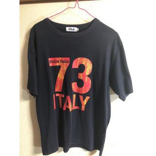 フィラ(FILA)のフィラ Tシャツ ネイビー Lサイズ 送料無料(Tシャツ/カットソー(半袖/袖なし))